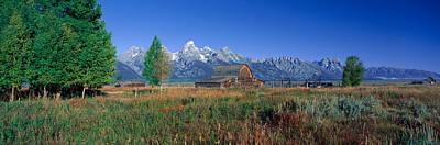 Pioneer Farm, Grand Teton National Poster