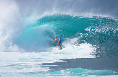 Pipeline's Reef Poster