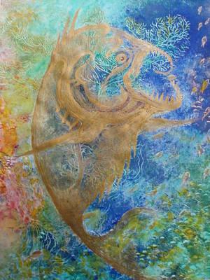 Piranha Water Poster