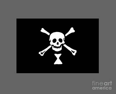 Pirate Flag Of Emmanuel Wynne Poster by Frederick Holiday