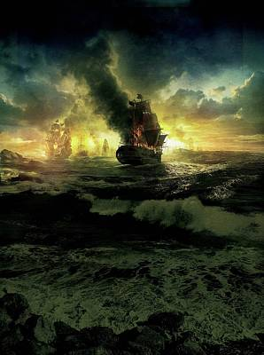 Pirates Of The Caribbean On Stranger Tides 2011  Poster