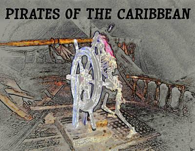 Pirates Skeleton Poster