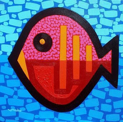 Pisces 4 Poster by John  Nolan