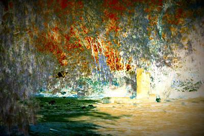 Pissarro's Garden Poster