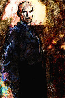 Pitbull Poster by Vya Artist