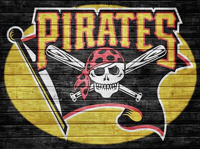 Pittsburgh Pirates Barn Door Poster by Dan Sproul
