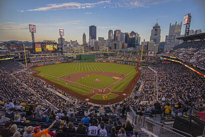 Pittsburgh Pirates Pnc Park X6 Poster