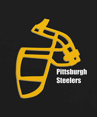 Pittsburgh Steelers Retro Poster by Joe Hamilton