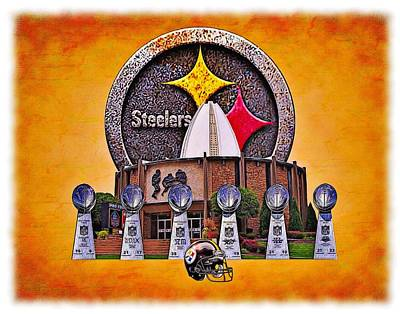 Pittsburgh Steelers Super Bowl Championships Poster