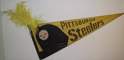 Pittsburgh Steelers Poster by William Douglas