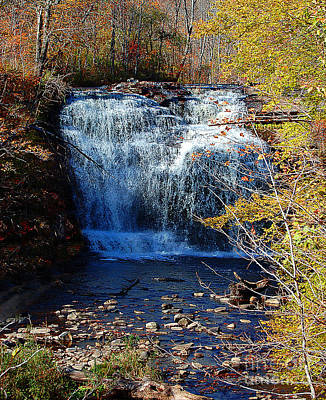 Poster featuring the photograph Pixley Falls State Park by Diane E Berry