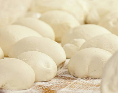 Pizza Dough Rising Poster