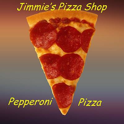 Pizza Slice Customized  Poster by Movie Poster Prints