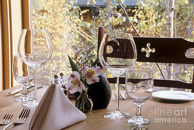 Place Setting Poster by Robert Pisano