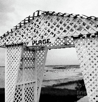 Plage Poster by Adriana Zoon