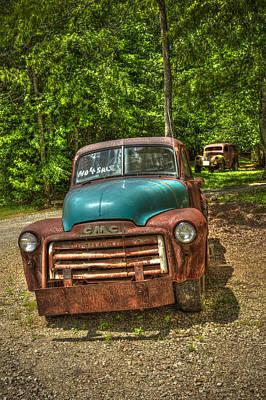 Plain Jane 1952 Gmc Pickup Truck Art Poster by Reid Callaway