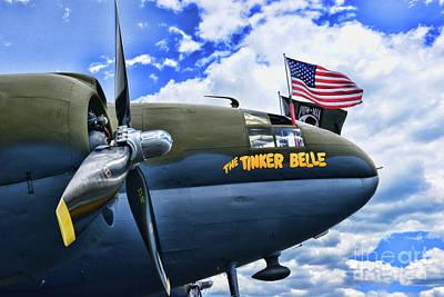 Plane - Curtiss C-46 Commando Poster