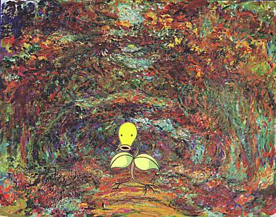Poster featuring the digital art Planet Pokemonet  by Greg Sharpe