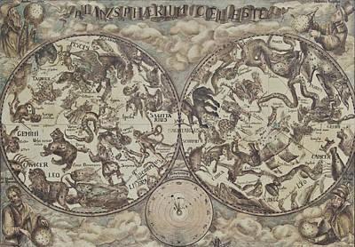 Planispherium Celeste Poster by Vali Irina Ciobanu