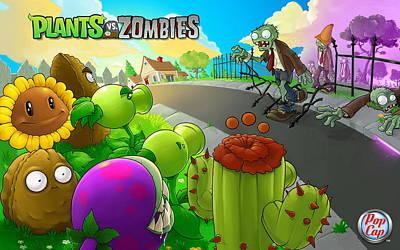 Plants Vs. Zombies Poster