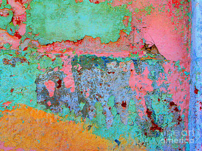 Plaster Abstract 8 By Michael Fitzpatrick Poster