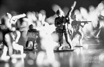 Poster featuring the photograph Plastic Army Men 2 by Micah May