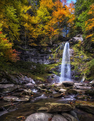 Poster featuring the photograph Plattekill Falls by Mark Papke