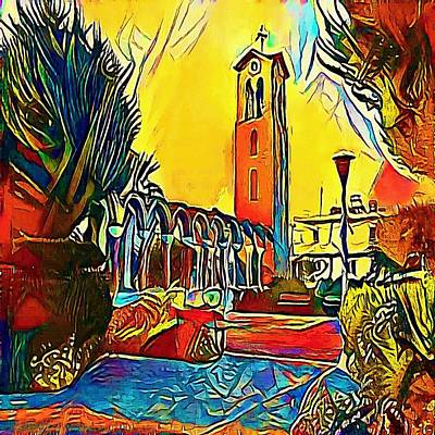 Platz - My Www Vikinek-art.com Poster by Viktor Lebeda