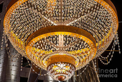 Playhouse Square  Chandelier  Poster by Frank  Cramer