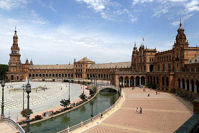Poster featuring the photograph Plaza De Espana 4 by Andrew Fare