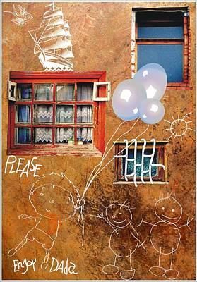 Please Enjoy Dada Poster by Dada Vfc