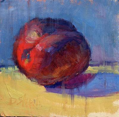 Plum Pretty Poster by Donna Shortt
