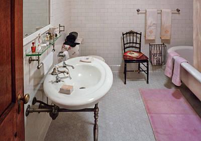 Plumber - The Bathroom  Poster
