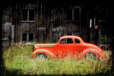 Plymouth Hot Rod Poster