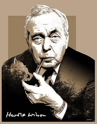 Pm Harold Wilson Poster