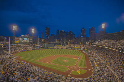 Pnc Park Pittsburgh Pirates C Poster