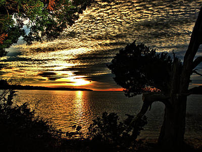 Pocasset Sunset Poster