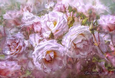 Poster featuring the digital art Pocket Full Of Roses by Kari Nanstad