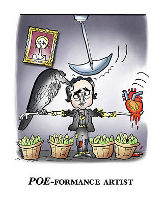 Poeformance Artist Poster by Mark Armstrong