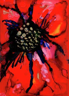 Poinsettia I Poster by Mary Benke