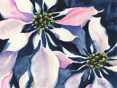 Poinsettia Poster by Marsha Elliott