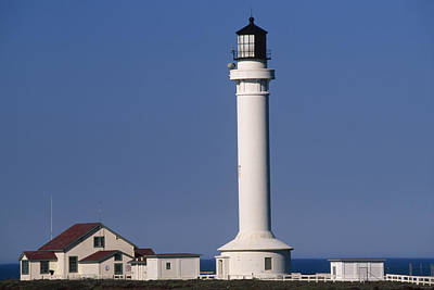 Point Arena Lighthouse Poster by Soli Deo Gloria Wilderness And Wildlife Photography