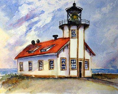 Point Cabrillo Light Station - Fort Bragg Poster