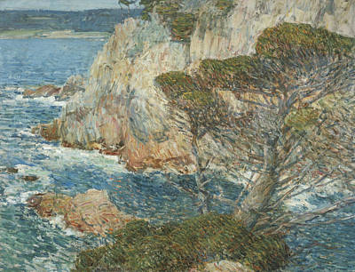 Point Lobos, Carmel Poster by Childe Hassam