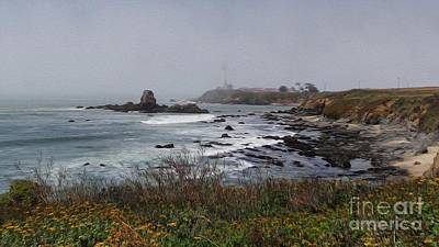 Poster featuring the photograph Point Montara Lighthouse by David Bearden