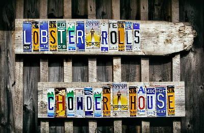 Point Prim Chowder House Poster