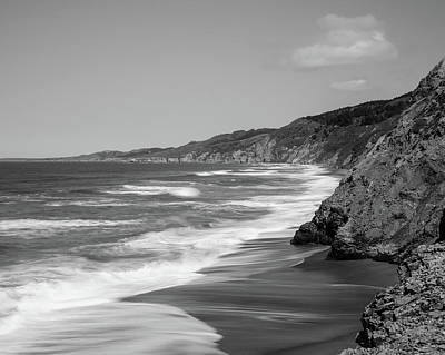 Point Reyes Coast Panorama Poster by Alessandra RC
