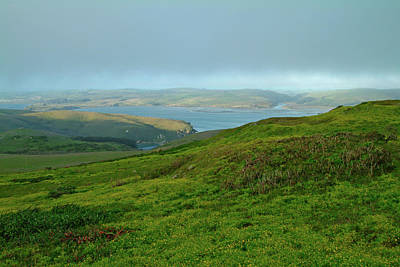 Point Reyes Overlooking Tomales Bay Poster