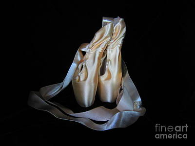 Pointe Shoes1 Poster by Laurianna Taylor