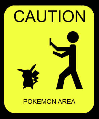 Poster featuring the digital art Pokemon Area by Shane Bechler